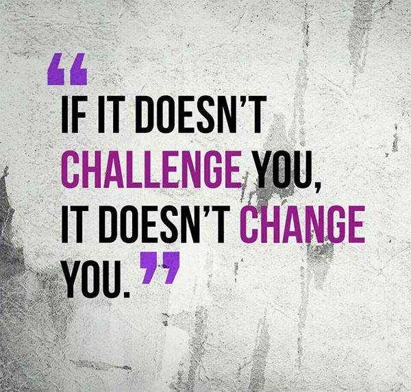 No Challenge No Change