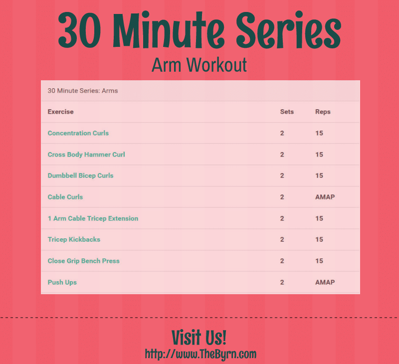 30 Minute Series: Arm Routine