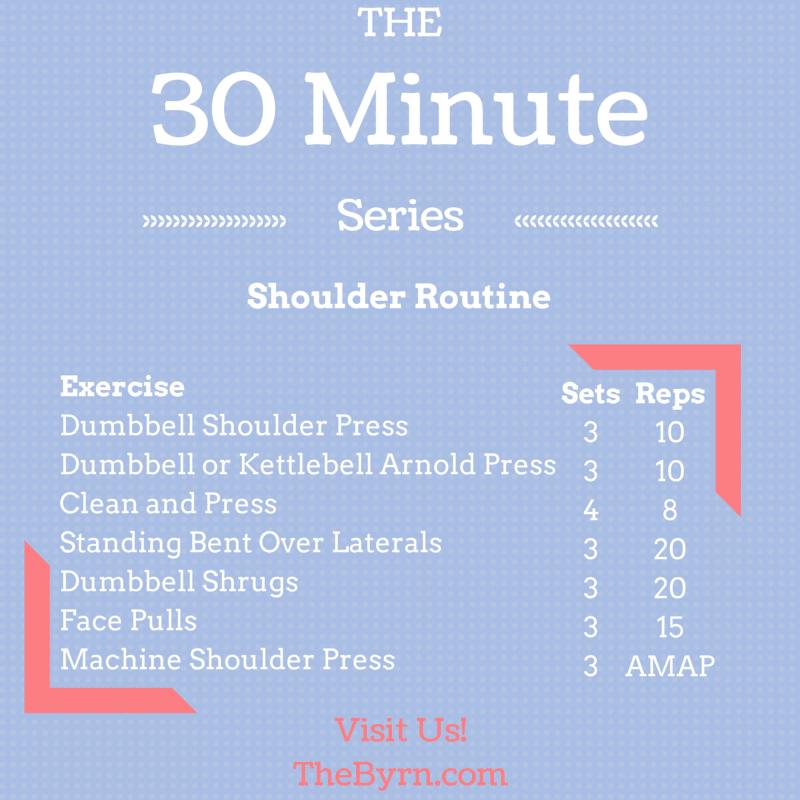 30 Minute Shoulders Routine